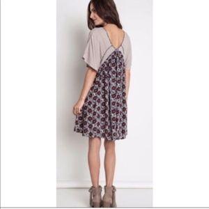 Umgee | Angel Sleeve Floral Boho Dress
